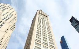 Det storstads- livförsäkringtornet Royaltyfri Fotografi