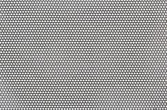 Det svarta ingreppet snör åt det materiella texturmakroskottet Royaltyfria Bilder