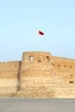 Det sydliga västra tornet av Arad Fort Royaltyfria Bilder