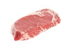 det täta ögonstödet sköt upp steak Arkivfoton