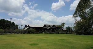 Det thai huset i inspirationen Arkivbild