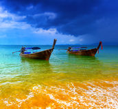 Det Thailand hav landskap royaltyfria foton