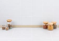 Det tomma avståndet i kök royaltyfri foto