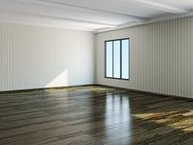Det tomma rummet Arkivfoto
