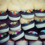Det traditionella polska läderberget startar för barn som kallas 'K Royaltyfri Fotografi