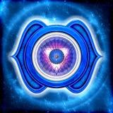 Det tredje ögat Chakra Arkivfoton