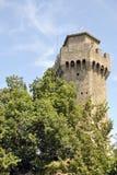 Det tredje sanmarinska tornet, Montale royaltyfria foton