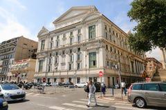 Det trevliga opera- och teaterhuset Royaltyfri Foto