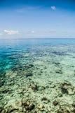 Det tropiska havet Arkivbild