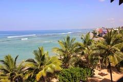 Det tropiska paradiset Arkivbild