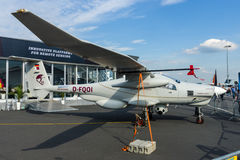 Det tyska spaningsplanet Stemme Q01-100 ( prototype) Royaltyfri Foto