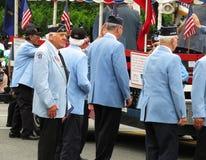 Det upprivna Veteran-medlet bröt ner Royaltyfri Foto
