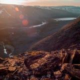 Det Urals landskapet ural berg Ryssland landskap arkivbilder