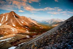 Det Urals landskapet ural berg Ryssland landskap royaltyfri foto