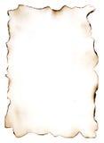 Det utbrända papperet 7 Arkivbilder