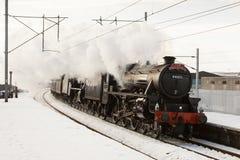Det uttryckliga vinterCumbrian berg Royaltyfri Foto