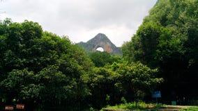 Det välvda berget royaltyfri bild