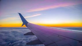 det varaa flygplan har bilden borttagna siktsfönstret Arkivfoton