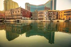 Det Venetian i Macao Royaltyfri Foto