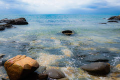 Det vidsträckta havet Arkivbild
