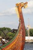 Det Viking Tall skeppet Draken Harald Harfagre Royaltyfri Bild