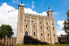 Det vita tornet, London - England Royaltyfri Foto