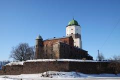 Vyborg slott Royaltyfria Foton