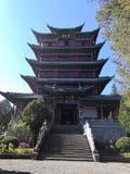 det Wanggu tornet royaltyfria foton