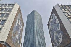 Det Zamansky tornet av universitetet Arkivfoto