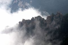 Zu berg Royaltyfria Bilder