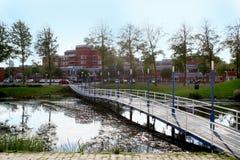 Det Zuiderzee sjukhuset i Lelystad Fotografering för Bildbyråer