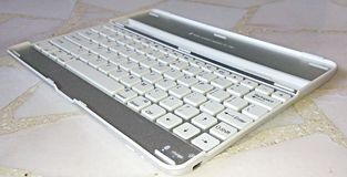 Detachable keyboard for ipad Royalty Free Stock Photo