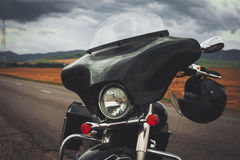Detachable motorcycle fairings Royalty Free Stock Images