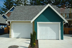 Garage New House Royalty Free Stock Photo