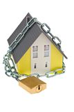 Detached with chain. Royalty Free Stock Photo