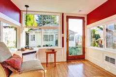 Detached guest house vacation rental cottage. INterior. Stock Photography