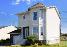 Detached house Stock Photography