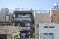 detached house in  Chiba Japan at 2016 Stock Images