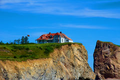 Detached house. royalty free stock images