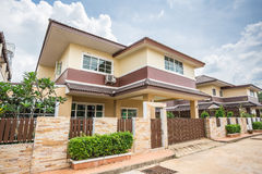 Detached house Two Story House Stock Image