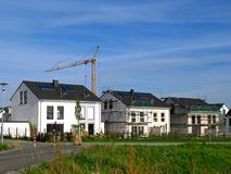 Detached houses Royalty Free Stock Images