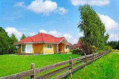 Detached house. Stock Images