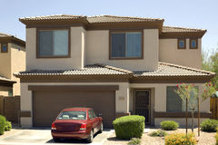 Detached Single Family Home Royalty Free Stock Images