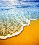 Detai della spiaggia Fotografie Stock