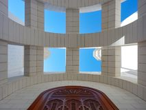 Detai of a mosque in muscat. In oman Stock Photo