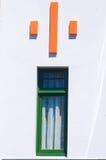 Detail über ein Art- DecoGebäude in Napier Stockbild