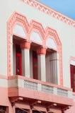 Detail über ein Art- DecoGebäude in Napier Stockfotos