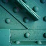 Detail über eine Stahlbrücke Lizenzfreie Stockfotos