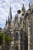 Detail of Aachen cathedral Stock Photography