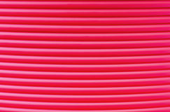 Detail of ABS filament - abstract background Royalty Free Stock Images